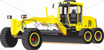 Yellow Grader