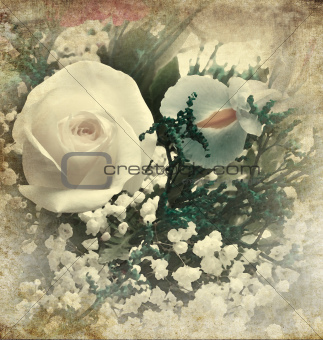 Flowers Vintage Background