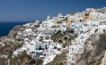 City on the Santorini