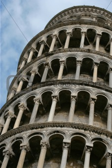Tower. Pisa. Leaning.