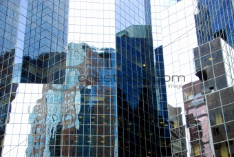 Skyscraper relflections