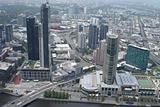 Melbourne, Aerial View