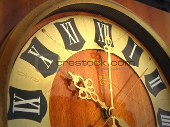 Old Wall Clock - passing time