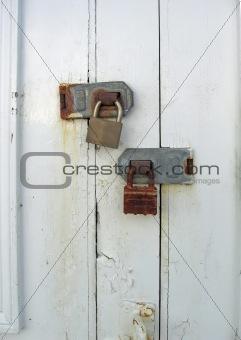 padlocked door & Image 56183: padlocked door from Crestock Stock Photos Pezcame.Com