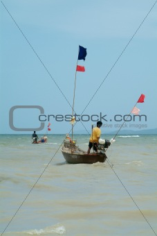 Fishing-boats in Thailand
