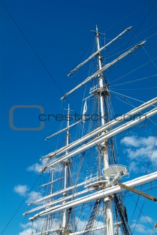 Rig of tall ship