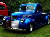 Classic Blue Truck