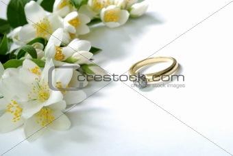 ring & flowers