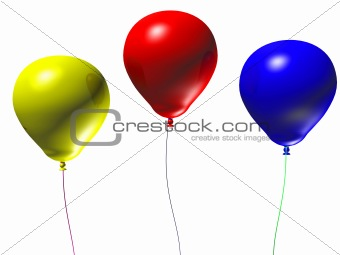 3d Balloons