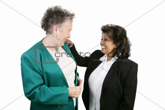 Coworkers Sharing a Laugh