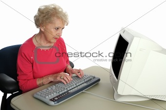 Senior Confused by Technology