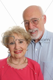 Senior Couple Together Vertical
