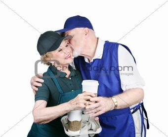 Senior Workers in Love
