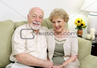 Seniors Relaxing at Home