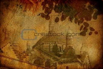 old-fashioned landscape