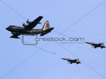 C-130H, F-5Es, Republic of Singapore Air Force