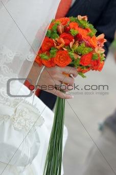 Brides Bouquet Portrait