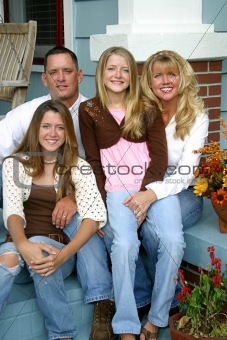 Beautiful Family Together