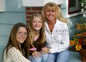 Beautiful Mother & Daughters