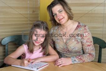 Doing Homework Together 2