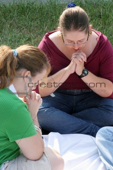 Two Prayerful Teens