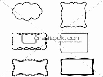 group vector illustration of book plates theme