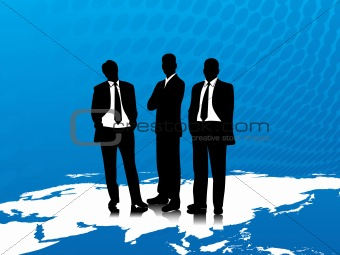 Vector illustration of business people