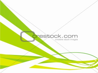 vector rush on white background