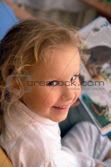 Small girl portret