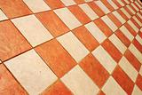 Checked tiles