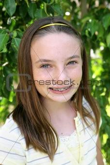 Beautiful School Girl
