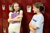 Locker Conversation