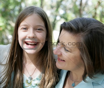 Mother Daughter Giggles
