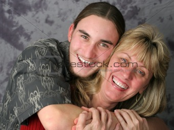 Mother Son Affection