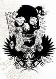 gothic skull