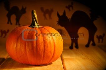 One pumpkin