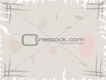 old speckled postcard
