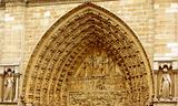 Notre Dame - main portal