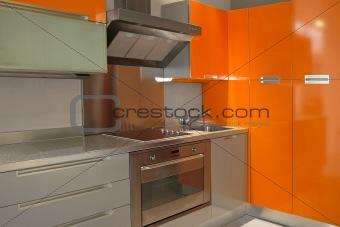 Kitchen orange