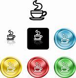 coffee cup icon symbol