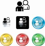 people networking icon symbol