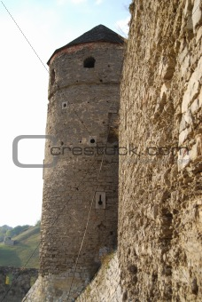 Fortress wall and tower