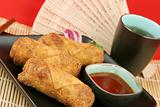 Egg Rolls With Tea