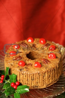 Fancy Holiday Fruitcake