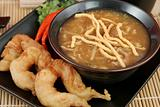 Hot &amp; Sour Soup with Prawns