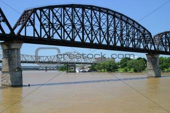 Three Ohio River Bridges