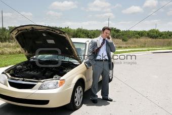 Flat Tire - Call Auto Club