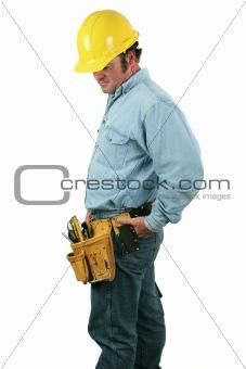 Tool Man Looks Down