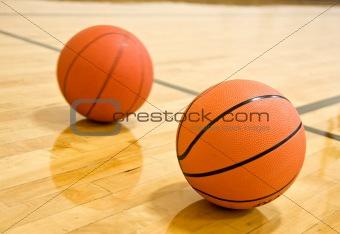 Pair of Basketballs