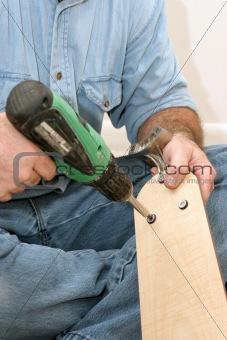 Assembling Fan Blades